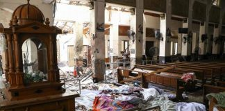 Bloodshed Sri Lanka, two suicide bombers in 8 attacks