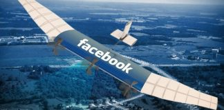 Facebook uses drones to speed up Internet