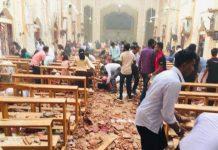 Sri Lanka bomb blast