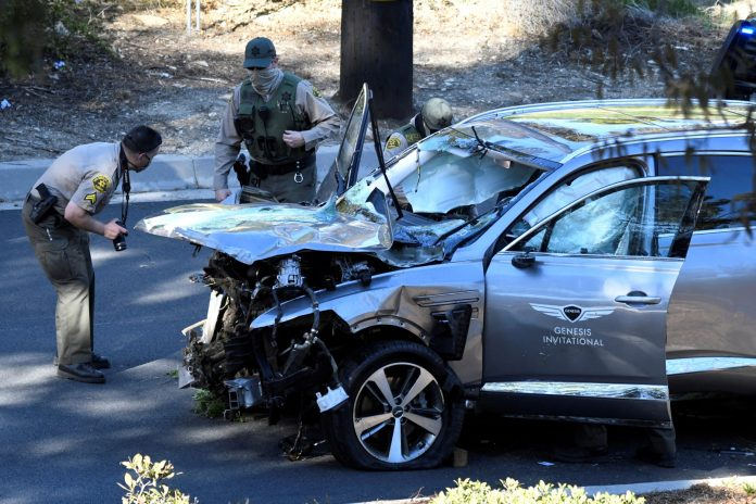 Tiger Woods injured in Car Crash, Condition & Charges