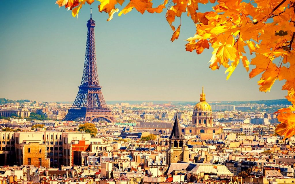 Paris- Top 10 Holiday Destination