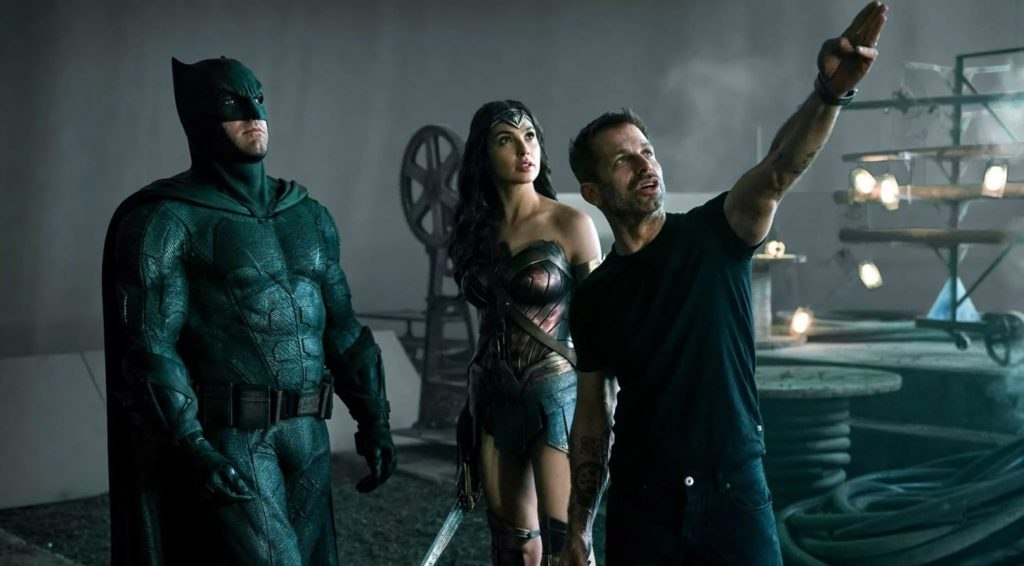 Zack Snyder Directing Justice League