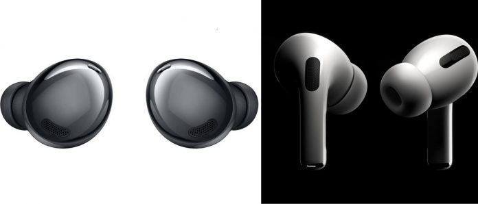 Samsung Galaxy Buds Pro vs Apple AirPods Pro