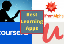 Best Learning Apps on Google Play Store and Apple AppStore