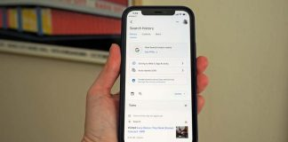 Delete the Last 15 Minutes of Your Google Search History on iOS