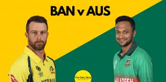 BAN vs AUS