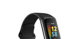 Fitbit Charge 5, a premium fitness tracker loaded with health features