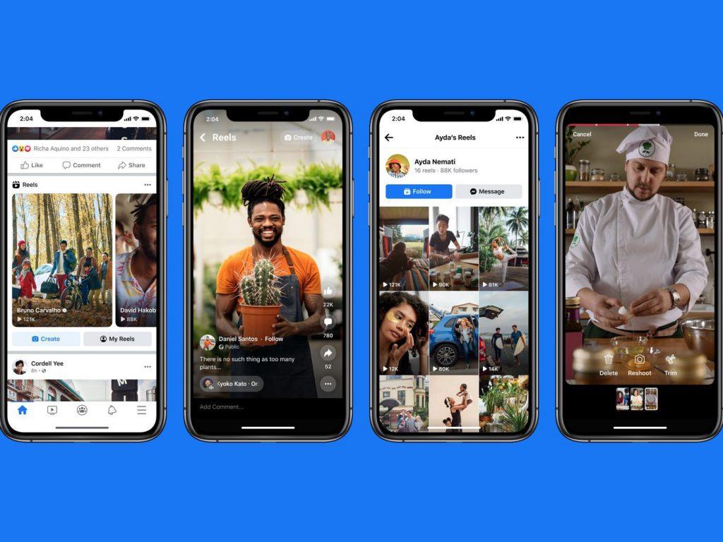 Facebook Brings Reels to its Main App