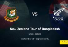 BAN vs NZ T20I: Bangladesh vs New Zealand T20 Full Schedule, Full Squads, Live Streaming