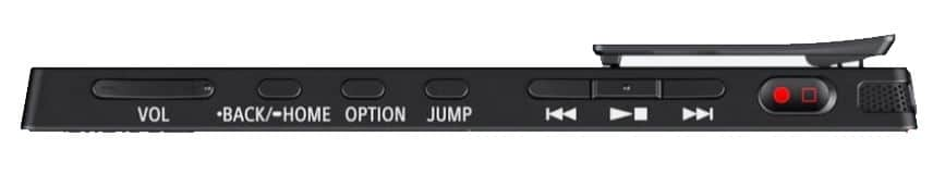Sony ICD-TX660 Voice Recorder Buttons