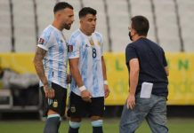 Brazil-Argentina World Cup qualifier suspended over quarantine rules