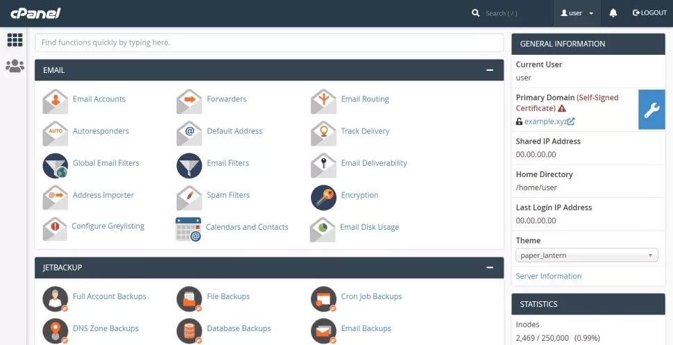 WordPress: How to install and set up using cPanel