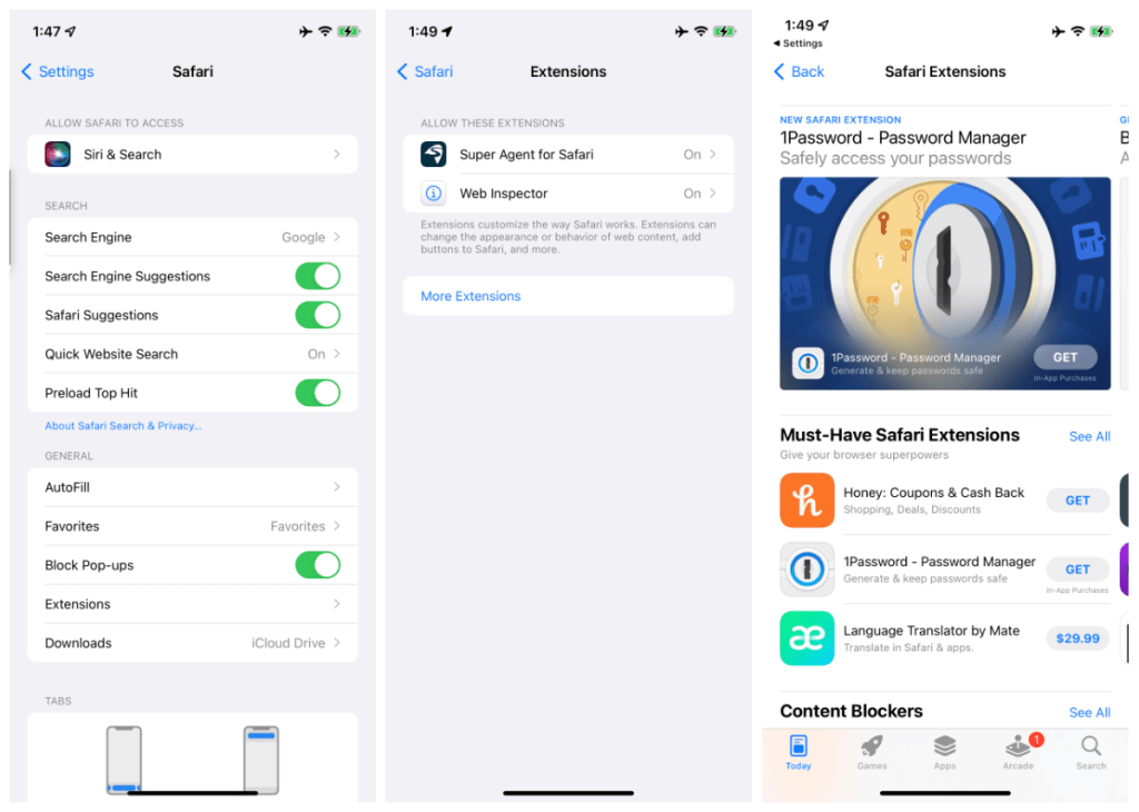 How to add Safari extensions on your iPhone and iPad